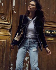 Phoebe Tonkin in Elle Magazine