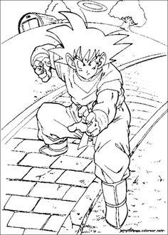 Dragon Ball Z Kleurplaten 96