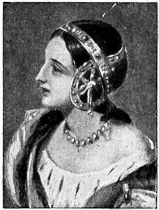 Isabella of France 1295-1358, Queen Consort of King Edward II.