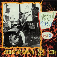 Various : That'll Flat Git It! Vol 8 -- Rockabilly From The Vaults Of Abott/Fabor/Radio Records (CD) World Music, Vaulting, Various Artists, Lps, Rock N Roll, Vinyl Records, Rockabilly, My Music, All About Time