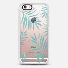 Palms - protective iPhone 6 phone case in Clear and Clear by @heylovedesigns #palmtrees | @casetify