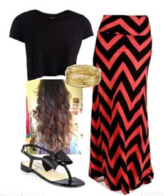 outfit Style fashion maxi skirt