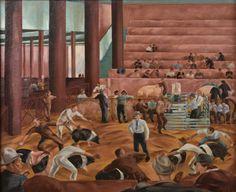 Maureen Cantey, Untitled - Hog Auction