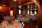 Fall reception at Park McCullough House. Barn wedding in N. Bennington, Vermont