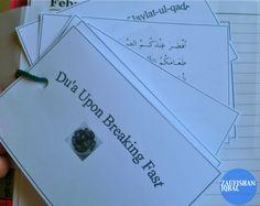 Children's Ramadan Journal And Crafting Activities | Zaufishan