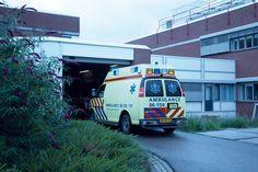 Ambulancesluis, ingang SEH - verbouwing hiervan tot geheel nieuw centrum acute zorg zijn in gang.