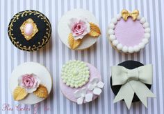 Cupcakes joya by Ros Cakes & Co.