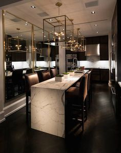 Michael Dawkins Home   Kitchens   · Contemporary Interior DesignModern  ContemporaryContemporary ...