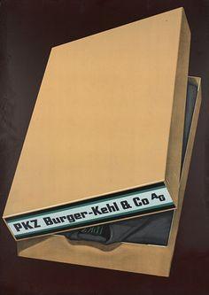 PKZ Menswear, 1935 - Artist: Diggelmann