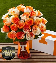 University of Tennessee Volunteers -roses....I better get this for graduation! hint :)