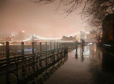 Brooklyn Heights promenade.  Where I became engaged.