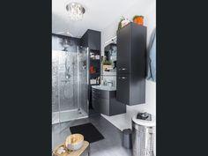Salle de bains Gris / Argent Contemporain / Actuel
