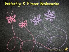 Tatted Butterfly Bookmark with tutorial of sorts :) - MISCELLANEOUS TOPICS