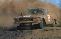 The legendary Mercedes Benz SLC 500 Rally Car. Won tons of races.... Incredible insurance, hence it's name Der Panzerwagen