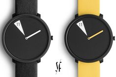 Face-Shifting Watches - This Sabrina Fossi Watch Shows Only Individual Hours (GALLERY)