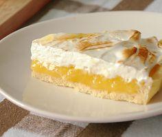Portuguese Recipes, I Foods, Vanilla Cake, Cheesecake, Deserts, Lemon, Dessert Recipes, Banana, Sweets