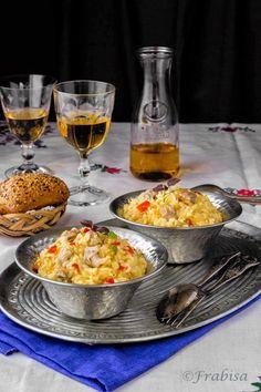 Risotto de Berberechos Gallegos. Cocina Gallega.