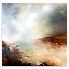 Alison Johnson - Simply Silent, Limited Edition Fine Art Print, 80x80cm | ACHICA