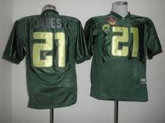 NCAA Oregon Ducks LaMIchael James Green 21#