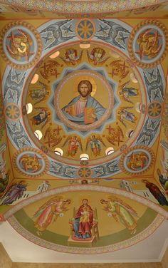 Byzantine Icons, Orthodox Icons, Fresco, Blessed, Greek, Painting, Holiday Decor, Mandalas, Paint
