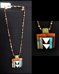 Mosaic Pendant by Mary Tafoya  $165  Go to website to purchase - www.thesundancegallery.com