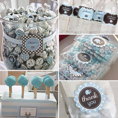 ELEPHANT Full Printable Party Pack Baptism by MakeLifeCuteShop
