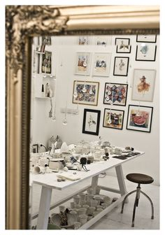 new one Gallery Wall, Spaces, Boutique, Inspiration, Home Decor, Drawing Rooms, Homemade Home Decor, Decoration Home, Boutiques
