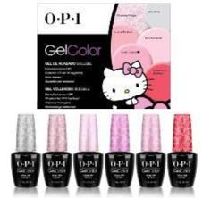 OPI Hello Kitty GelColor 2016 Collection – Beauty Trends and Latest Makeup Collections | Chic Profile