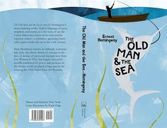 The Old Man and the Sea Book Cover by katiegrip, via Flickr