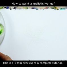 FREE Tutorial on painting a realistic ivy leaf in watercolor. Detailed botanical illustration which you can use on a Christmas card, add to a wildlife painting or frame and display on your wall. Have a go now! . #PaulHopkinson #TheDevonArtist #leafpainting #howtopaintleaves #howtopaintaleaf #christmascard #makeyourowncards #ivyleaf #watercolorpainting #watercolourpainting #watercolortutorial #paintinglessons #artlessons #learntopaint #botanicalpainting #botanicalwatercolor Art Lessons, Learn To Paint, Wildlife Paintings, Botanical Illustration, Watercolor Paintings, Maple Leaf Tattoo, Watercolor Artist, Painting, Painted Leaves
