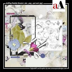 ArtPlay Palette Sirenic Released 08 February 2019 #annaaspnes of #aA designs #annaaspnes #digitalart #digitalartist #digitalartistry #digitalcollage #collage #digitalphotography #photocollage #art #design #artjournaling #digital #digital #scrapbooking #digitalscrapbooking #scrapbook #modernart #memorykeeping #photoshop #photoshopelements