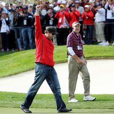 Sports: American Heckler at Ryder Cup Gets Challenged to Putt Sinks It Wins $100