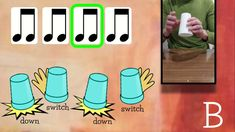Piano Lessons, Music Lessons, Music Education, Kids Education, Cup Song, Cup Games, Music Worksheets, Music Online, Primary Music