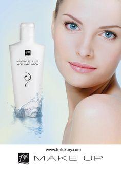Micellar make-up remover voor een gladde, gehydradeerde en gekalmeerde huid.