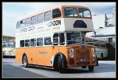 W Alexander & Sons (Northern) trainer bus Aberdeen depot Office Training, Double Decker Bus, Bus Coach, Busses, Tow Truck, Aberdeen, Old Trucks, Public Transport, Transportation