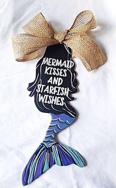 Mermaid Door Hanger – Urban Rustic Market