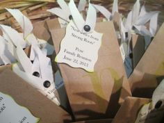 #FamilyReunion favor seed packets #family #quote