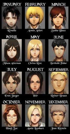 I'm Mikasa; I wanted Levi tho ; (I do act like Mikasa tho v. Mikasa, Armin, Eren Y Levi, Attack On Titan Funny, Attack On Titan Anime, Naruhina, Atack Ao Titan, Scenario Game, Birthday Scenario