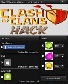 Clash of Clans is a world acclaimed strategy game, made by completion company Supercell. You can revel in it on Android and ios also. Here's the place that Clash of Clans Hacks will help you.