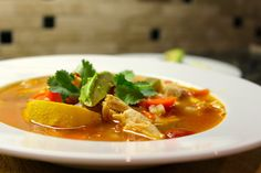 The Hunting Wife: Smoky Tortilla-less Chicken Tortilla Soup