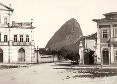 Rua Senador Vergueiro e Largo do Catete (atual Praça José de Alencar), Flamengo
