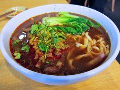 川味牛肉麵 - Beef Noodle