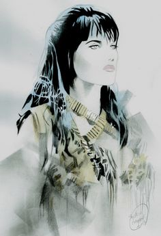 Comic Art Shop :: Shelton Bryants Comic Art Shop :: XENA:Warrior Princess:: The largest selection of Original Comic Art For Sale On the Internet