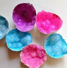 Make Your Own Geodes--Fun Activity for Kids #summer