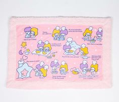 Little Twin Stars Lap Blanket: Cooking TOO CUTE