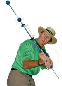 Widely regarding as the most comprehensive full swing golf trainer!     The David Leadbetter Swing Setter, which incorporates the four fundamentals of the David Leadbetter teaching philosophy; Grip, Plane, Release and Tempo, is designed with four unique components that enable golfers to build and maintain a consistent swing.  It is among the best-selling and most effective training aids in the history of golf. $119.95 - Golf Training Aids: http://www.PlayBetterStore.com