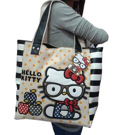 HelloKitty Loungefly Handbag Tote Shoulder Bag 2015 New Canvas  HelloKitty   ShoulderBag Hello Kitty Bag e05b99eb85244