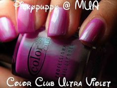 Color Club Ultra Violet