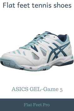 04eec0c04c Flat feet tennis shoes - ASICS GEL-Game 5 available for both men and women