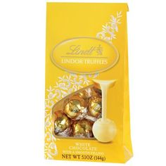 Lindt Lindor Truffles White Chocolate (12-Count), 5.1-Ounce Bags (Pack of 4) by Lindt, http://www.amazon.com/dp/B002RBTWC2/ref=cm_sw_r_pi_dp_Fla1pb0JD7YSK